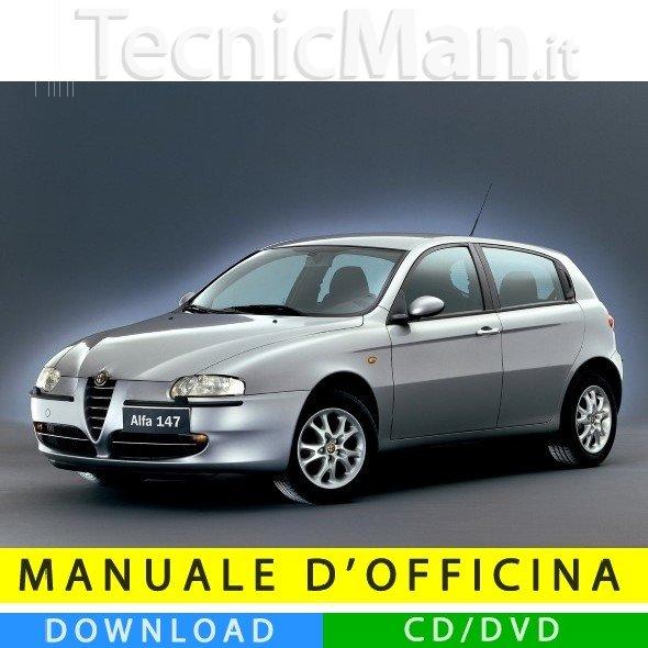 Manuale officina Alfa Romeo 147 (2000-2010) (Multilang)