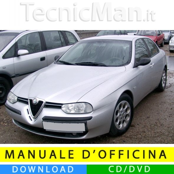 Manuale officina Alfa Romeo 156 (1997-2007) (Multilang)