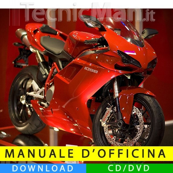 Manuale officina Ducati 1098 (2007-2008) (IT)