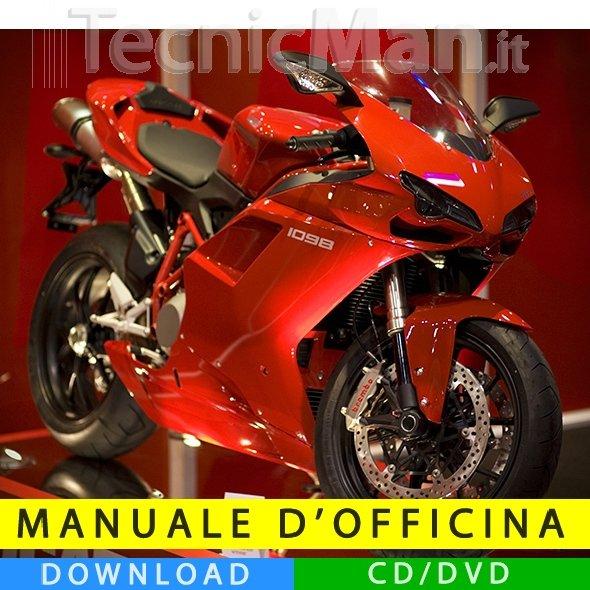 Manuale officina Ducati 1098 (2007-2008) (IT)