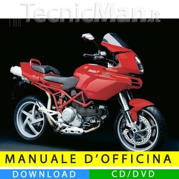 Manuale officina Ducati Multistrada 1000 DS (2003-2009) (EN-IT)