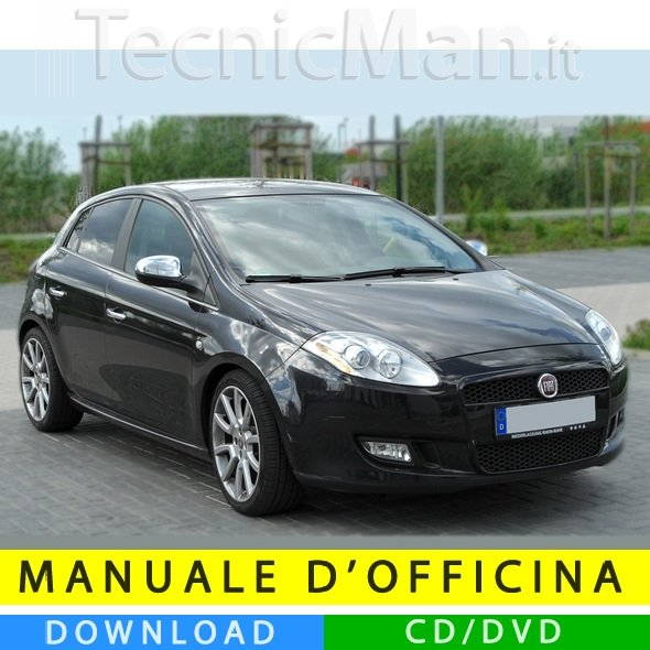 Manuale officina Fiat Bravo (2007-2014) (Multilang)