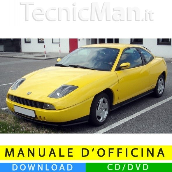 Manuale officina Fiat Coupé (1994-2000) (EN)