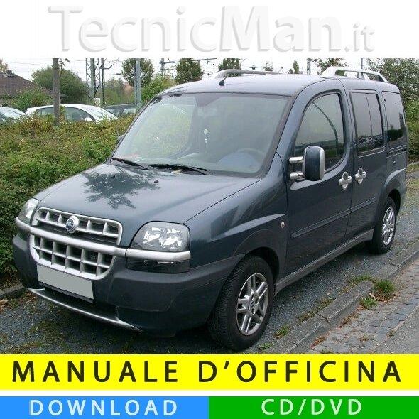 Manuale officina Fiat Doblò (2000-2010) (Multilang)