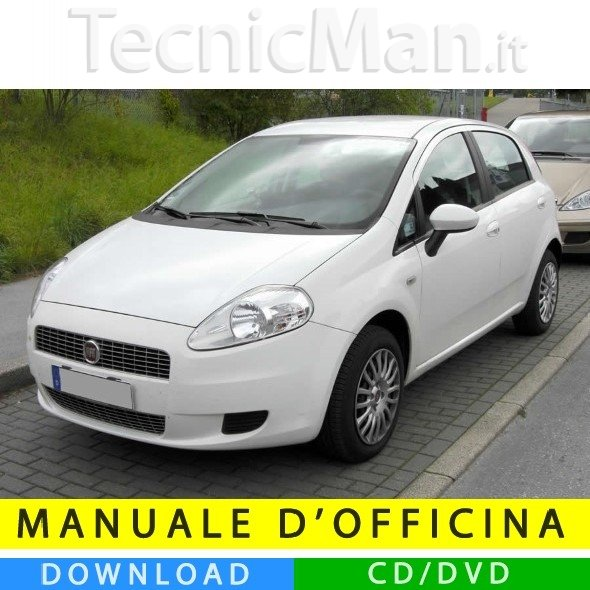 Manuale officina Fiat Grande Punto (2005-2012) (MultiLang)