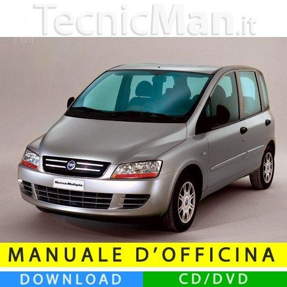 Manuale officina Fiat Multipla II (2004-2010) (MultiLang)