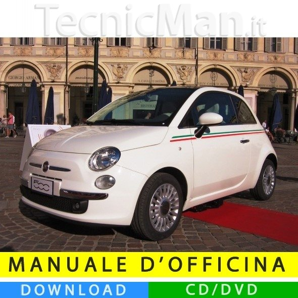 Manuale officina Fiat Nuova 500 (2007-2014) (MultiLang)