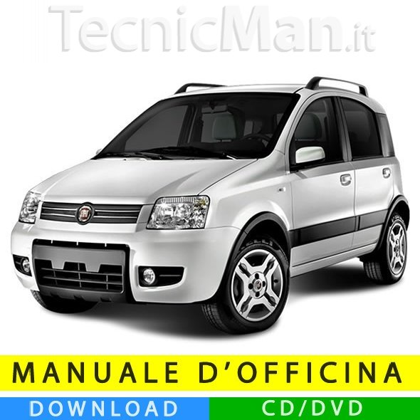 Manuale officina Fiat Panda (2003-2012) (Multilang)