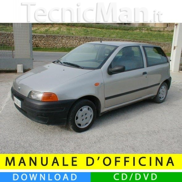 Manuale officina Fiat Punto (1993-1998) (IT)