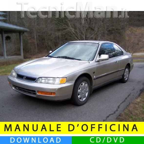 Manuale officina Honda Accord (1993-1997) (EN)