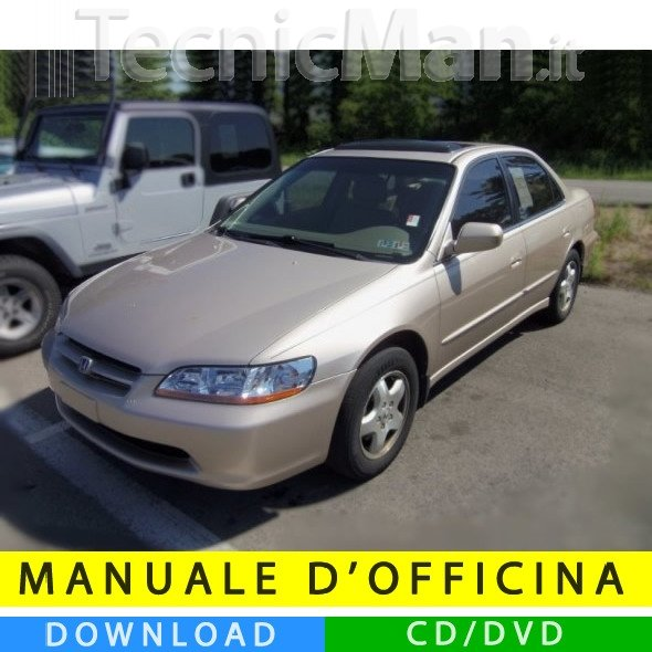 Manuale officina Honda Accord (1998-2002) (EN)