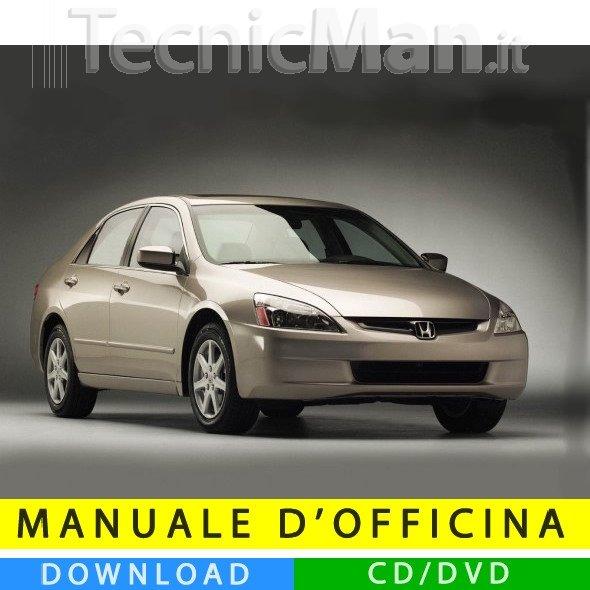 Manuale officina Honda Accord (2003-2007) (EN)