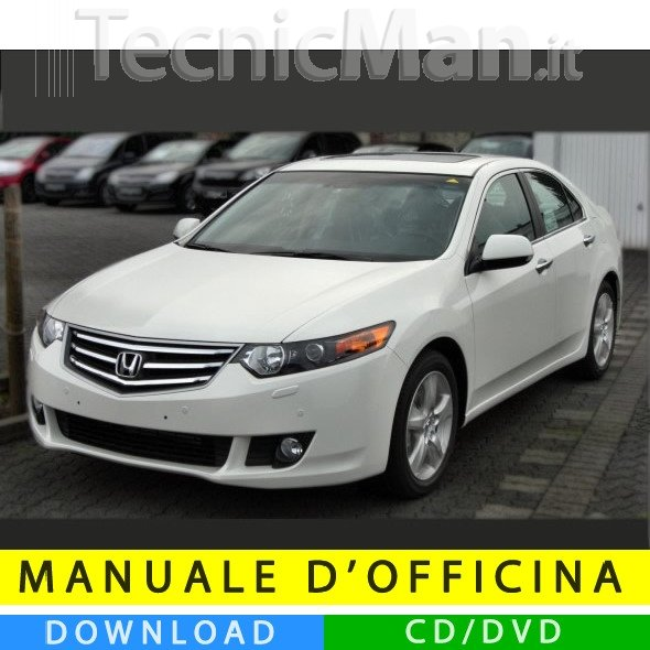 Manuale officina Honda Accord (2008-2012) (EN)