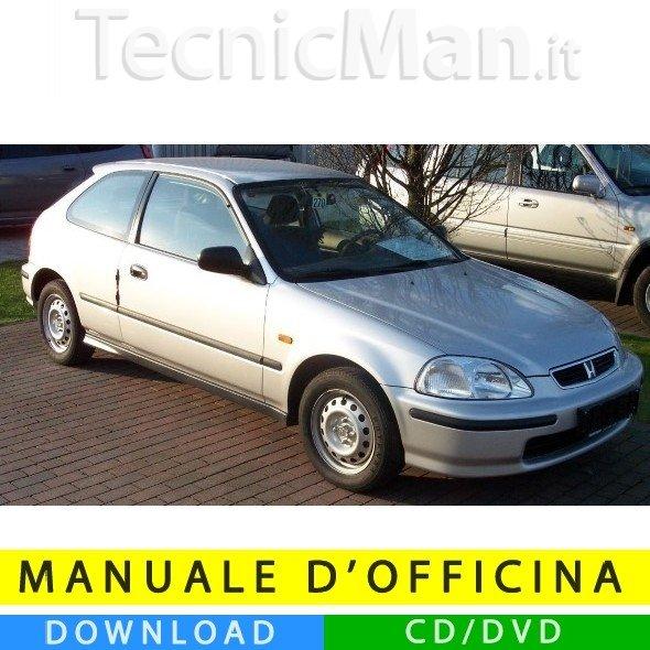 Manuale officina Honda Civic VI (1996-2000) (EN)