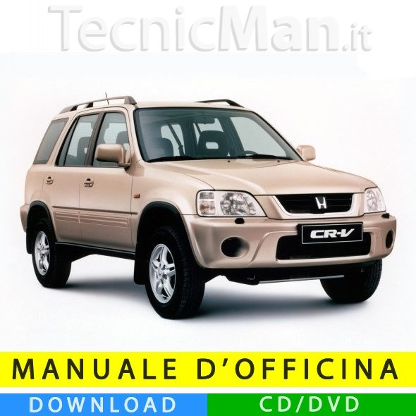 Manuale officina Honda CR-V (1996-2001) (EN)