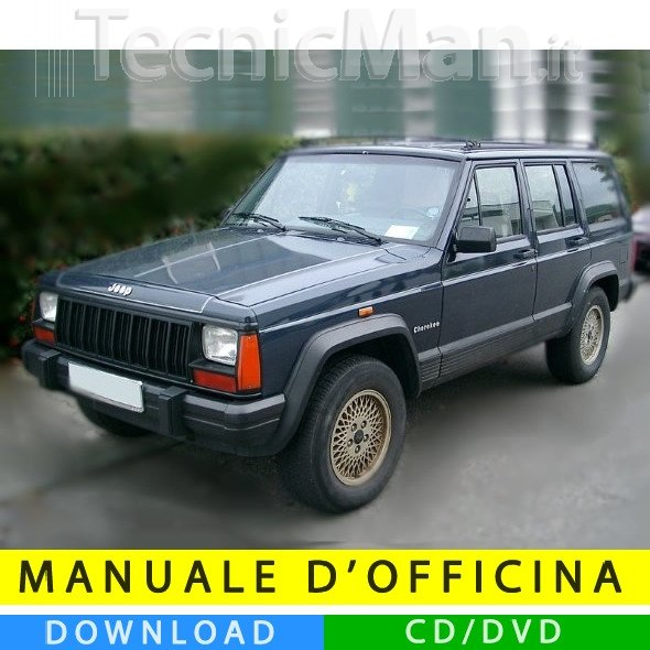 Manuale officina Jeep Cherokee (1984-2001) (EN)