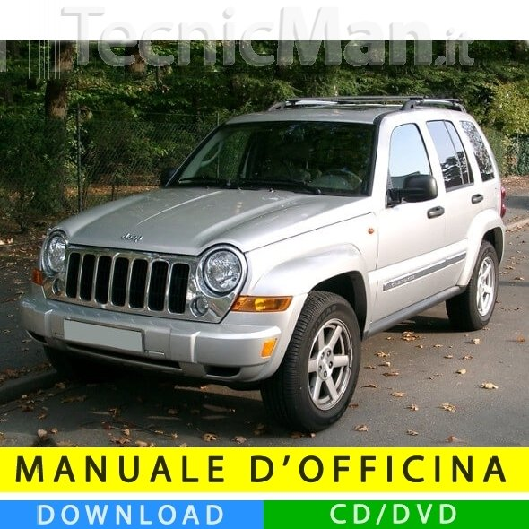 Manuale officina Jeep Cherokee (2002-2007) (EN)
