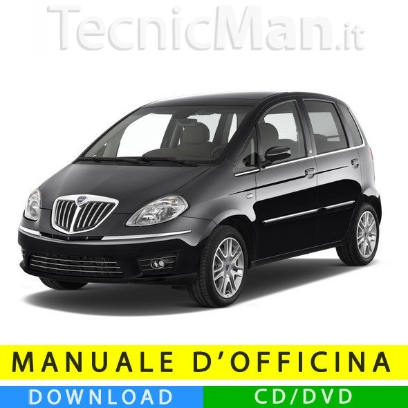 Manuale officina Lancia Musa (2004-2012) (Multilang)