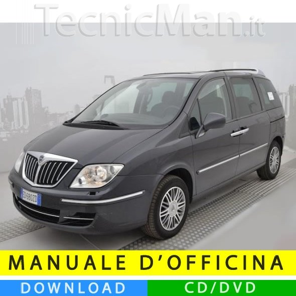 Manuale officina Lancia Phedra (2002-2014) (Multilang)