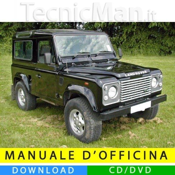 Manuale officina Land Rover 90-110 (1984-1990) (EN)