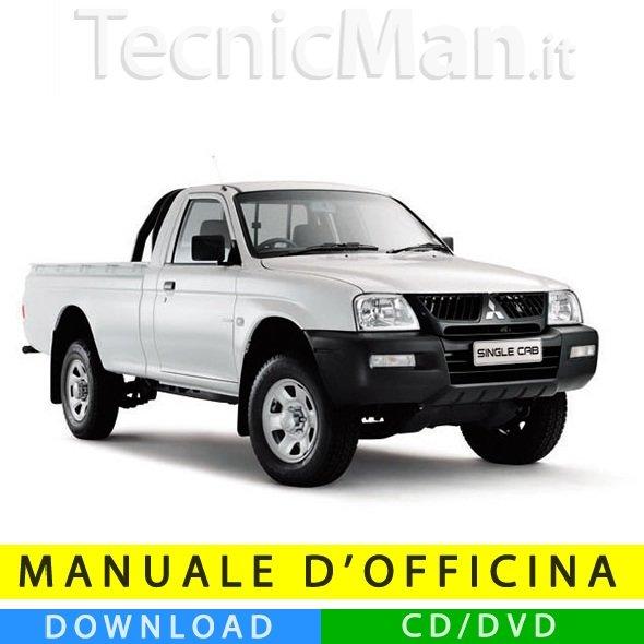 Manuale officina Mitsubishi L200 (1995-2005) (EN)