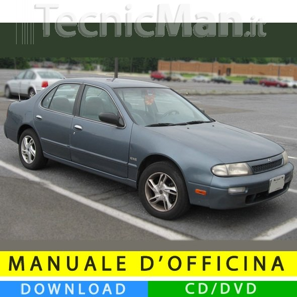 Manuale officina Nissan Altima (1992-1997) (EN)