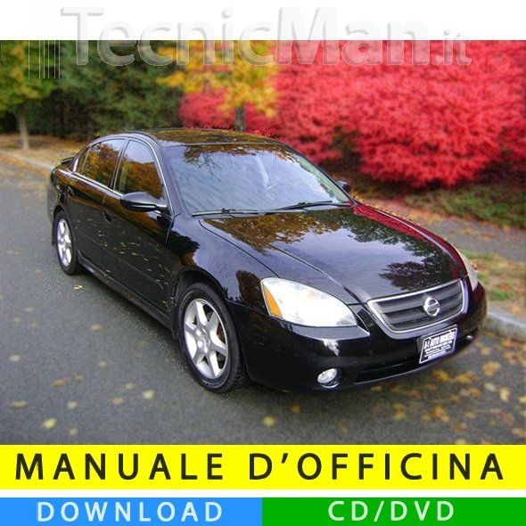 Manuale officina Nissan Altima (2002-2006) (EN)