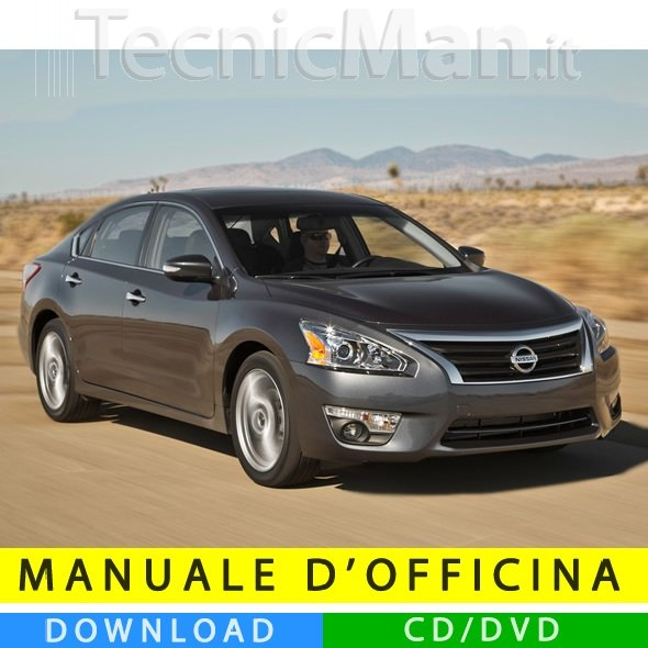 Manuale officina Nissan Altima (2013-2015) (EN)