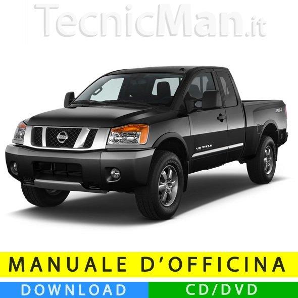 Manuale officina Nissan Titan (2003-2015) (EN)