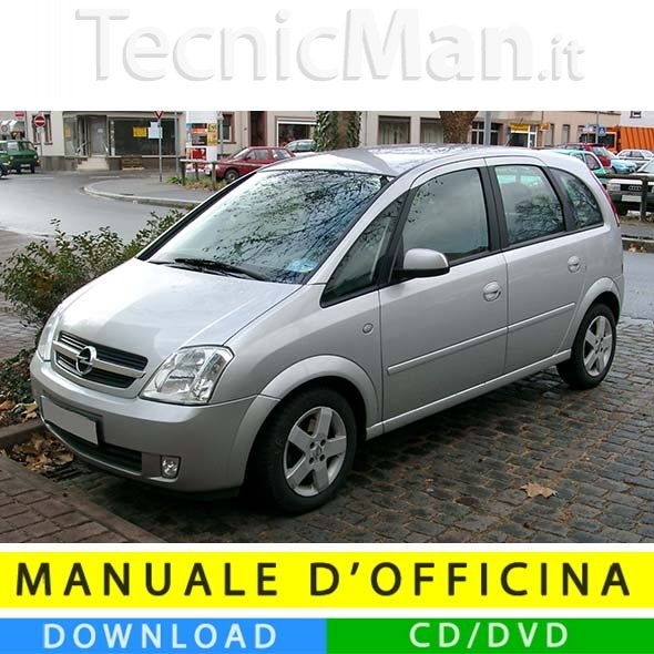 Manuale officina Opel Meriva A (2003-2010) (IT)