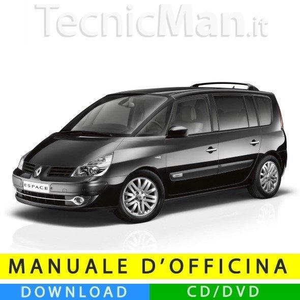 Manuale officina Renault Espace IV (2003-2014) (EN-FR-ES)