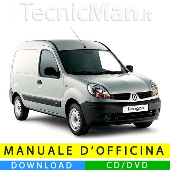 Manuale officina Renault Kangoo (1997-2007) (EN-FR-ES)