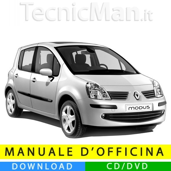 Manuale officina Renault Modus (2004-2012) (EN-FR-ES)
