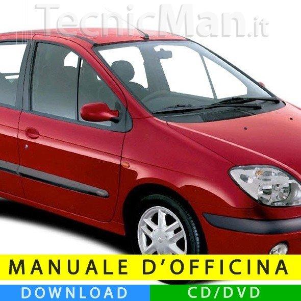 Manuale officina Renault Scenic (1997-2003) (EN)