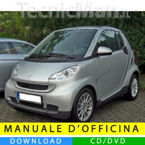 Manuale officina Smart Fortwo (2007-2014) (EN-IT-DE)