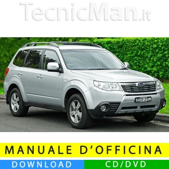 Manuale officina Subaru Forester (2008-2010) (EN)