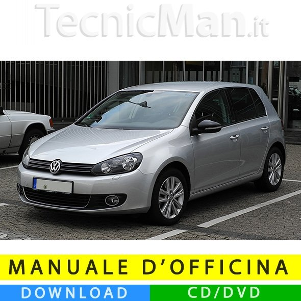 Manuale officina Volkswagen Golf VI (2008-2012) (IT)