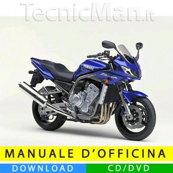 Manuale officina Yamaha FZ1 1000 (2001-2005) (IT)