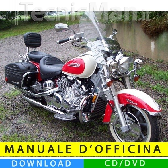 Manuale officina Yamaha Royal Star (1996-2010) (EN)