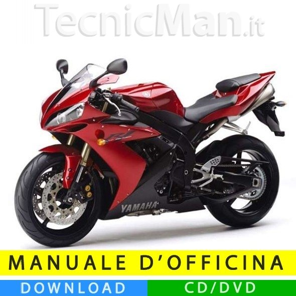 Manuale officina Yamaha YZF-R1 1000 (2004-2005) (IT)