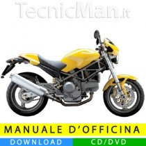 Manuale officina Ducati Monster 400/620 (2003-2004) (EN-IT)