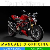 Manuale officina Ducati Streetfighter (2009-2014) (MultiLang)