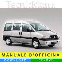 Manuale officina Fiat Scudo (1996-2007) (EN)