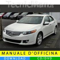 Manuale officina Honda Accord (2008-2012) (EN)