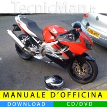 Manuale officina Honda CBR 600F (2001-2006) (EN)