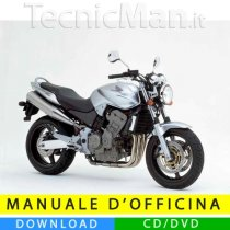Manuale officina Honda Hornet 600 (1998-2002) (IT)