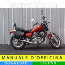 Manuale officina Honda VT500C (1983-1986) (EN)