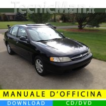 Manuale officina Nissan Altima (1998-2001) (EN)