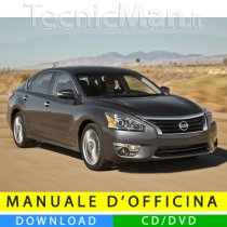 Manuale officina Nissan Altima (2013-2015) (EN)