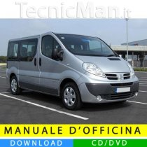 Manuale officina Nissan Primastar (2001-2014) (EN-FR-ES)
